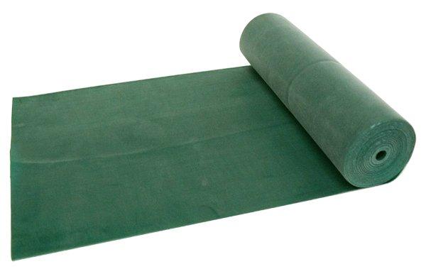 Bande élastique de rééducation dure - 5,5 m (vert)