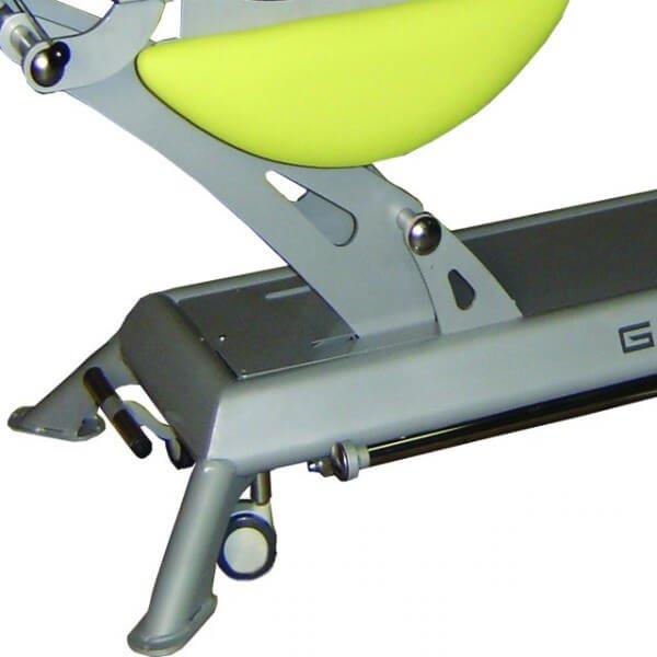 Coloris châssis gris alu pour table électrique Genin (espace et lagon )