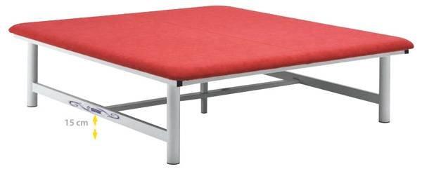 Table fixe Bobath Ferrox Tiepolo 200 x 100 x 50 cm