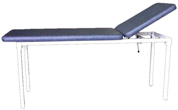 Table fixe 2 plans Genin GT09 proclive, tube carré couleur au choix