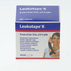 TAPE LEUKOTAPE K BSN MEDICAL 5 CM X 5 M NOIR