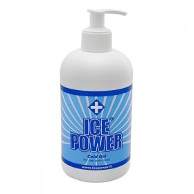ICE POWER COLD GEL FLACON AVEC POMPE 400ML