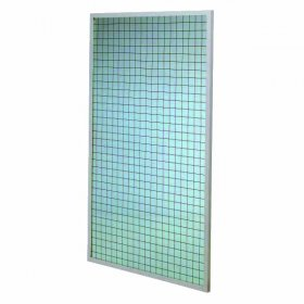 Miroir mural 100 x 170 quadrillé 5 x 5 cm