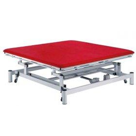 Table électrique Bobath Ferrox 200 x 200 Pro Grand Confort vérin 8000 N avec roulettes