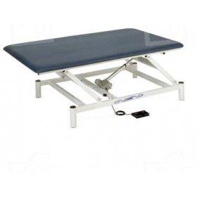 Table électrique Bobath Ferrox 200 x 120 cm PRO vérin 8000N commande pédale à élévation électrique de 46 à 94cm
